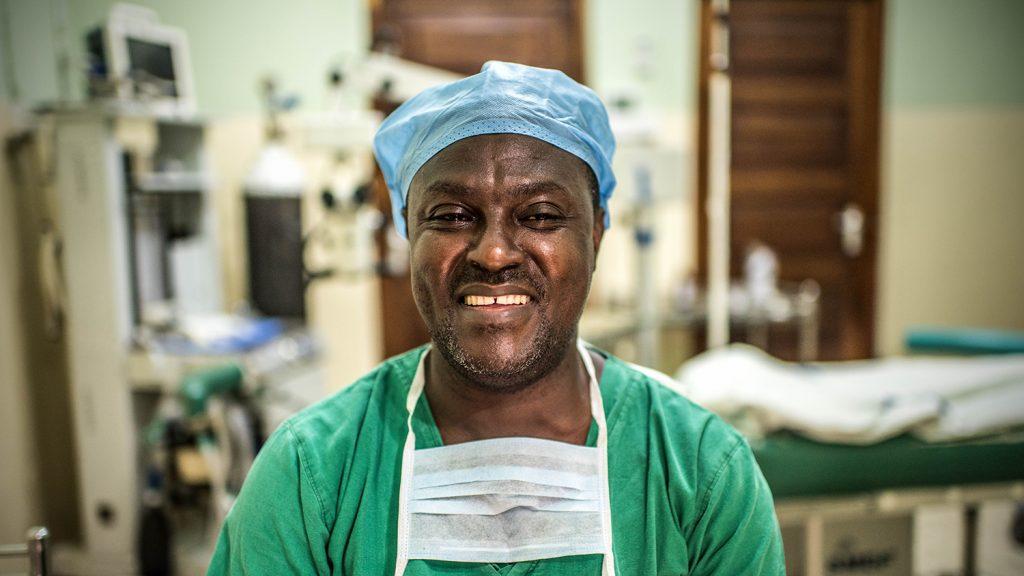 Dr Paul Nyaluke.