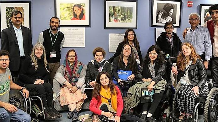 Pakistan delegates with the MIUSA team.