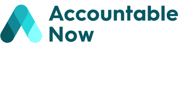 Accountable Now logo.
