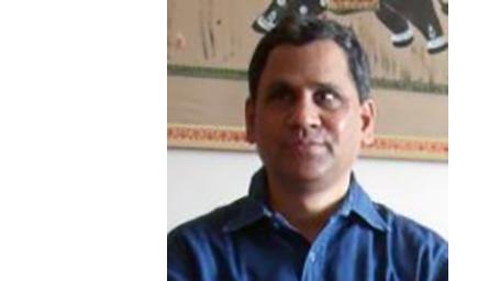 Portrait of Dr Subramaniam.