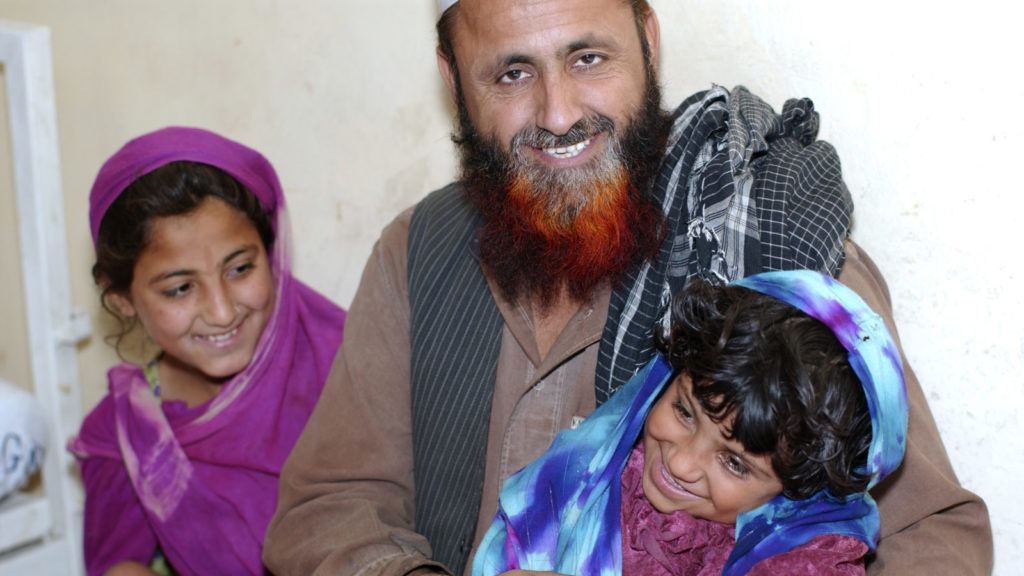 Eight year old Ayesha from Mohmand Agency,
