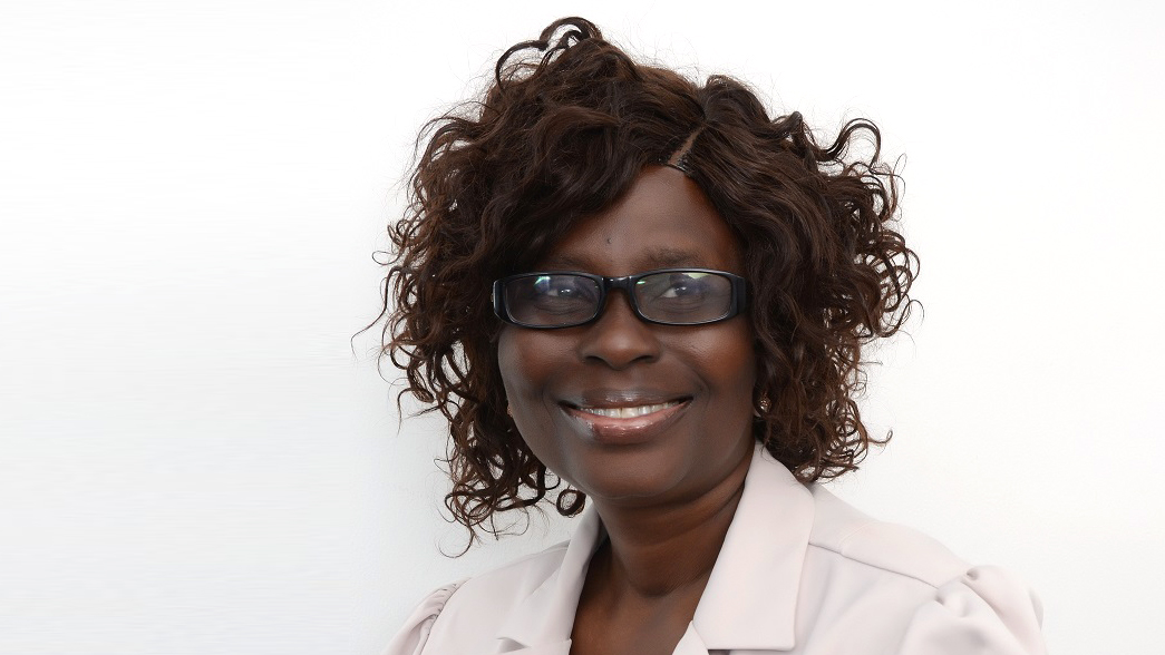 Sightsavers' Gertrude Oforiwa Fefoame.