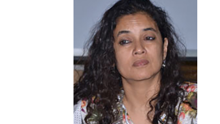 Portrait of Srila Chatterjee.