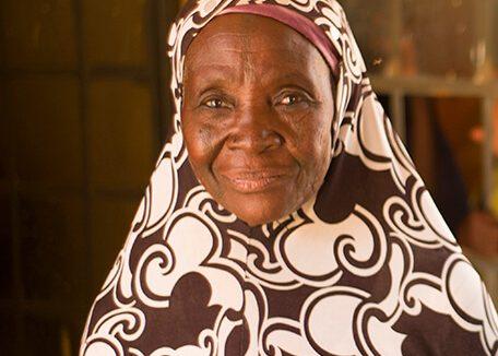 Medication was used to treat Hadiza's trachoma.