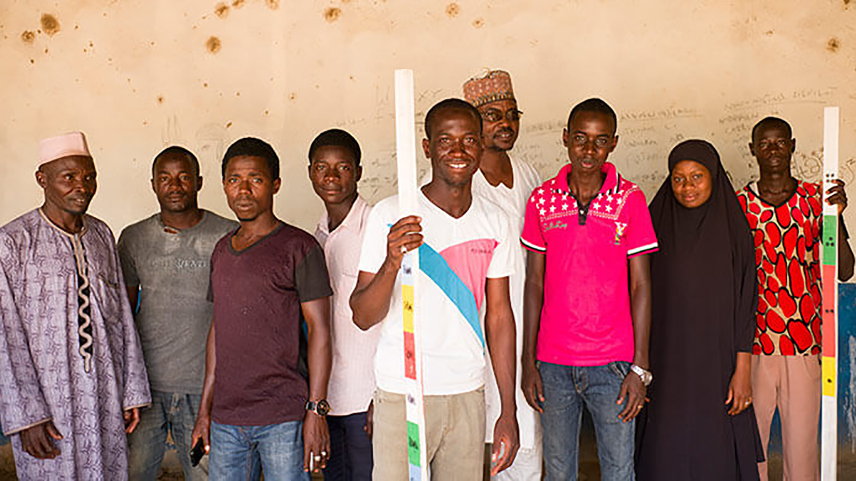 A group of community-directed distributors from Zamfara State, Nigeria.