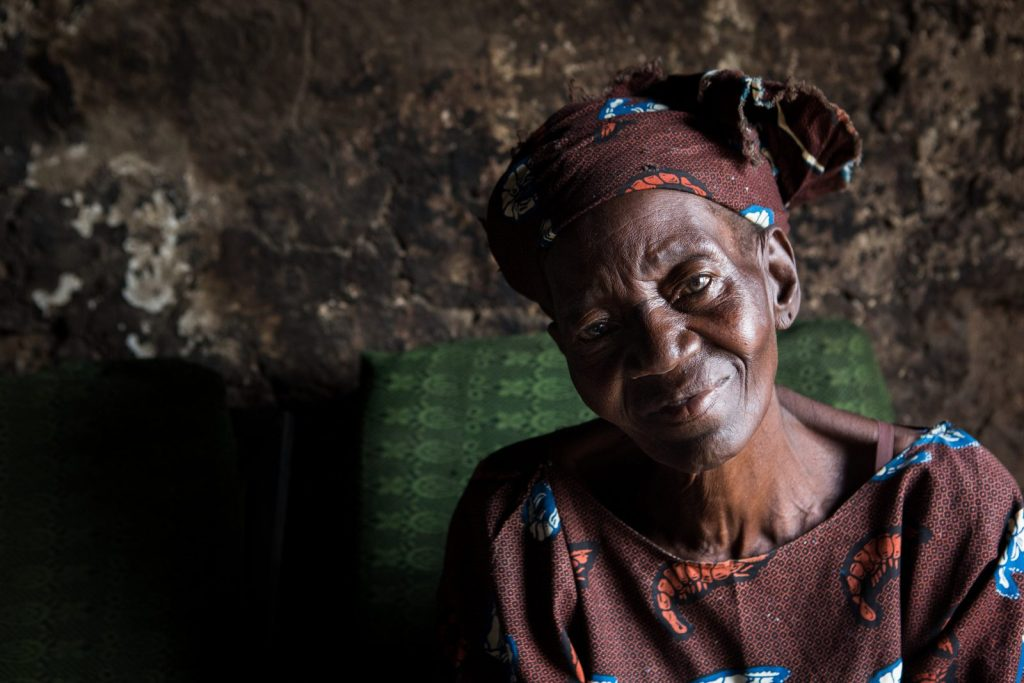 Christiana Solomon has lymphatic filariasis. She lives in Lokoja, Nigeria, with her family.