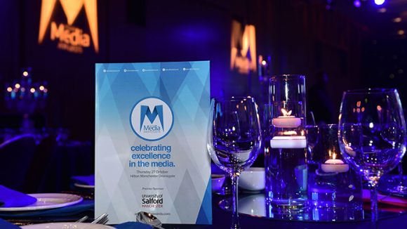 Asian Media Awards dinner table