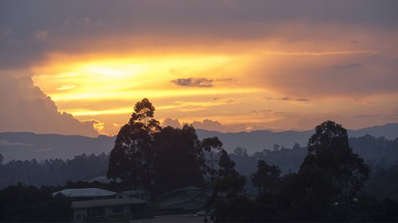 Cameroon sunset