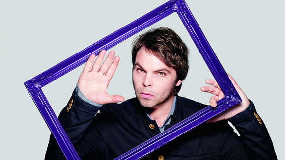 Gaz Coombes in a photo frame