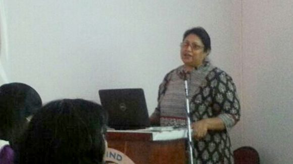 Sightsavers' Archana Bhambal.