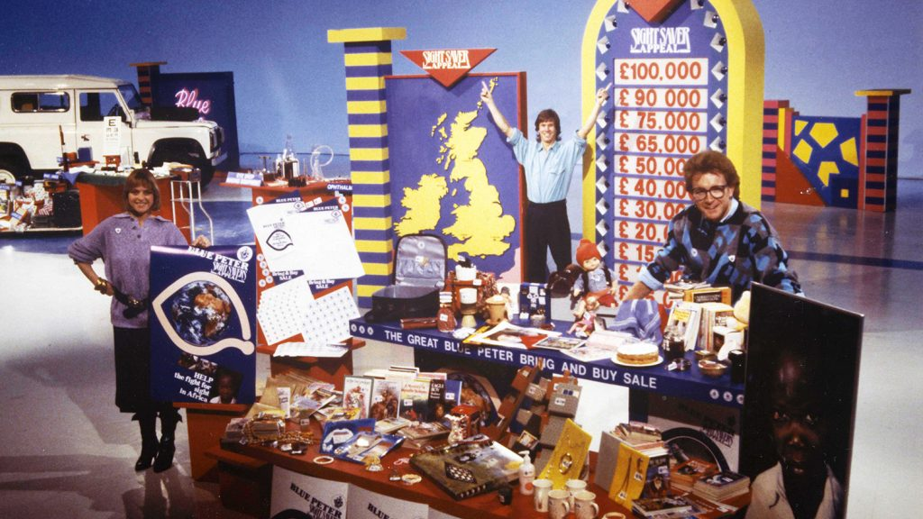 Blue Peter's Sight Savers appeal.