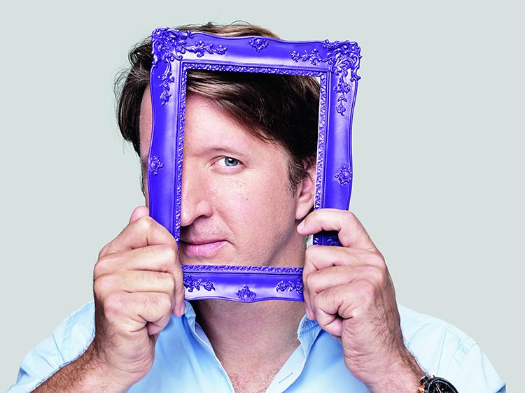 Tom Hooper in a frame