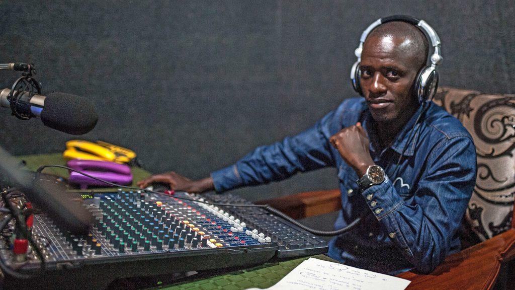 DJ Robert Musasizi.