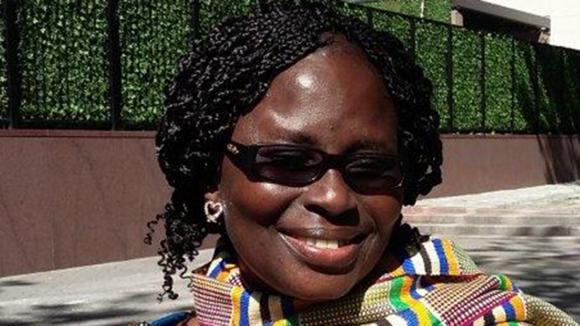 Close-up photo of Gertrude Oforiwa Fefoame.