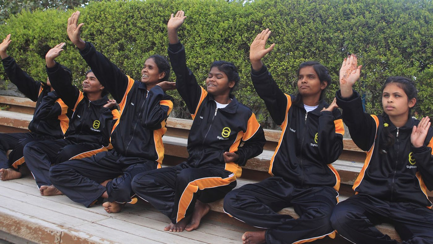 Judo girls from India, empowerment project