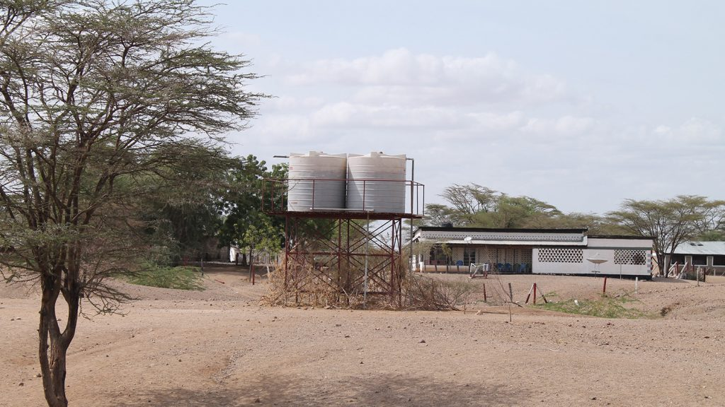 Water tanks have been installed, linked to the hand-washing stations at the latrines and kitchens.