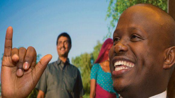 Ambrose Murangira is Executive Director of the Ugandan National Association of the Deaf