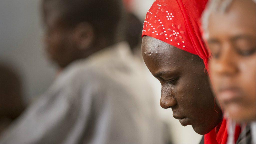 Mbathio attends school in Dakar.