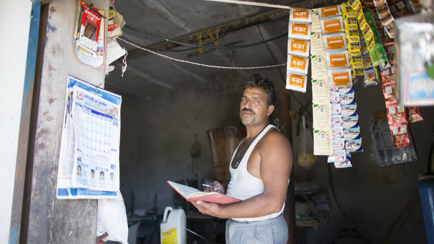 Bhagirath campaigns for work for those with disabilities.