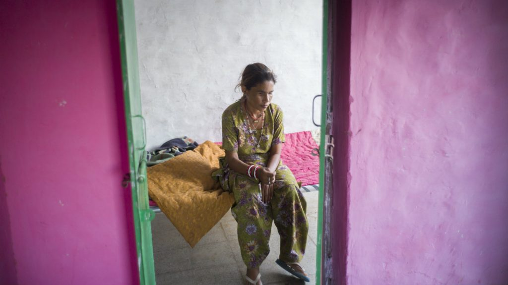 Dallu hopes one day she and her family can be happy.