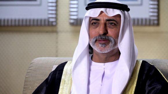 HH Sheikh Nahyan Bin Mubarak Al Nahyan.