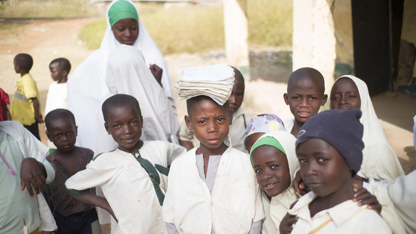 School children in Nigeria.