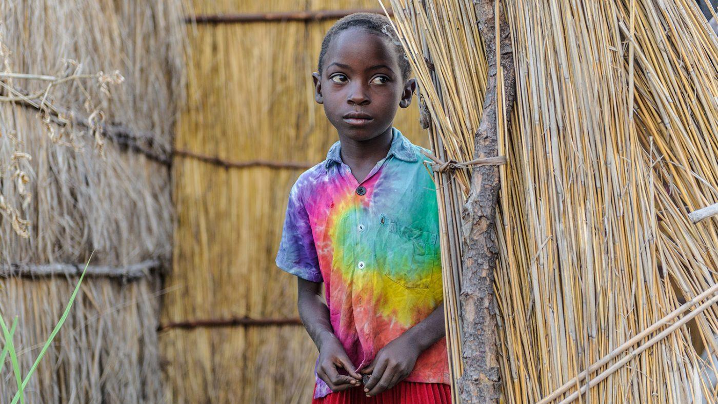 Namukolo in her village.