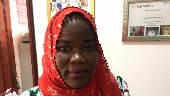 Salimata Bocoum, Sightsavers Country Director Senegal.