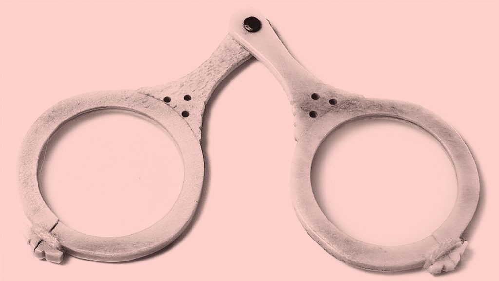 An example of one of the first pairs of spectacles, with two magnifying glasses riveted together.
