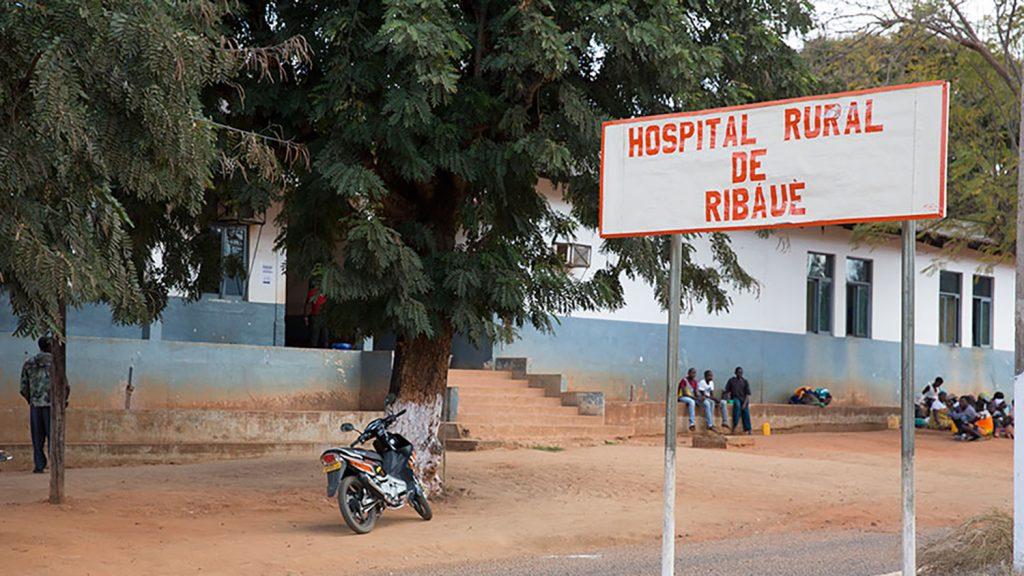 Ribaue hospital building.
