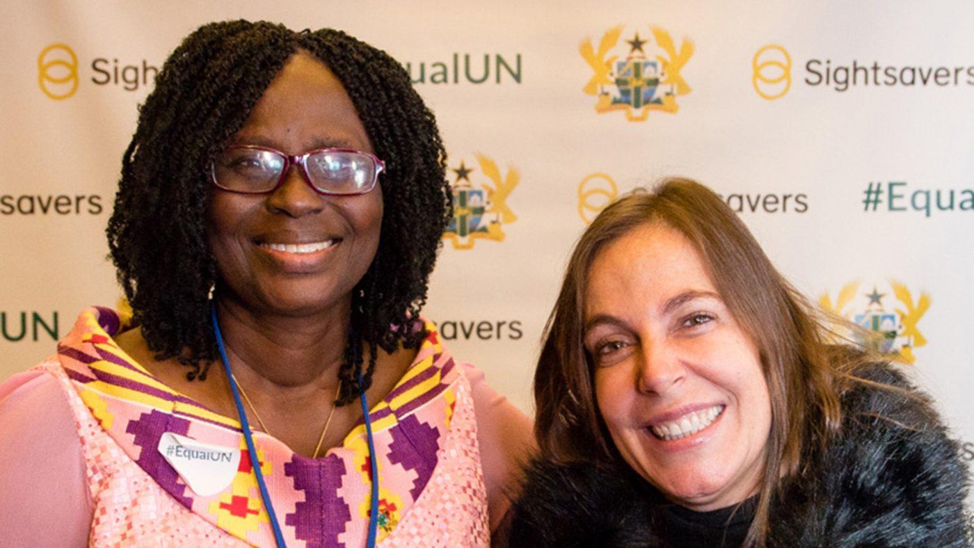 Gertrude Oforiwa Fefoame and Mara Gabrilli.
