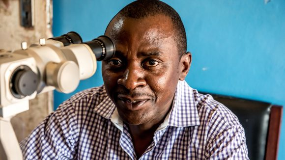 Dr Gerald Msukwa smiles at the camera.