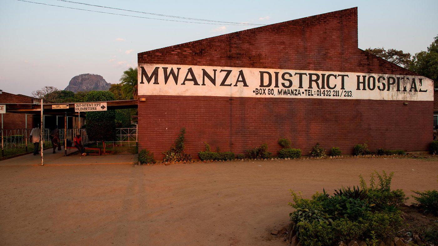 Mwanza Hospital, Malawi.