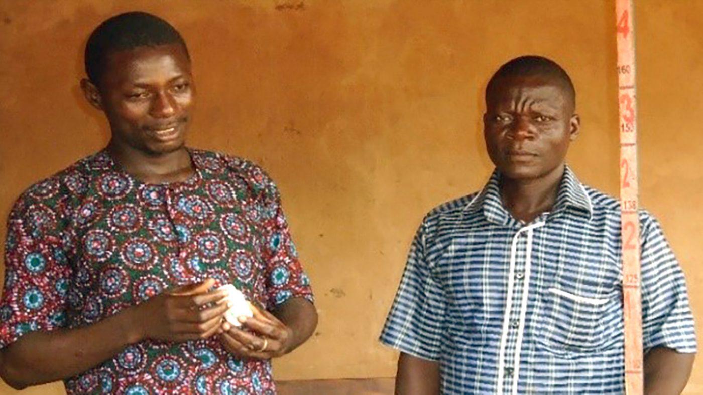 Komlanvi Afangnibo and Daniel Meou.