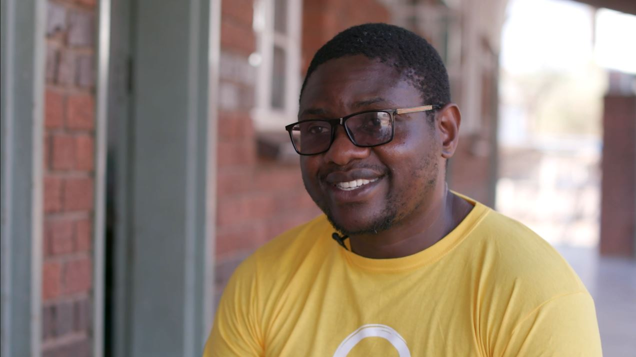 Support a hero: Givemore's story | Sightsavers
