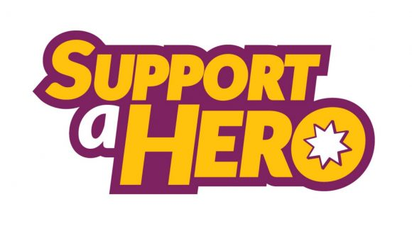 Support a Hero logo