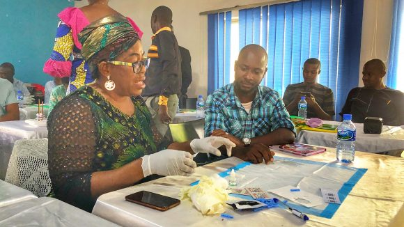 The onchocerciasis elimination mapping pilot project in Nigeria.