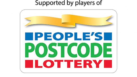 People's Postcode Lottery logo.