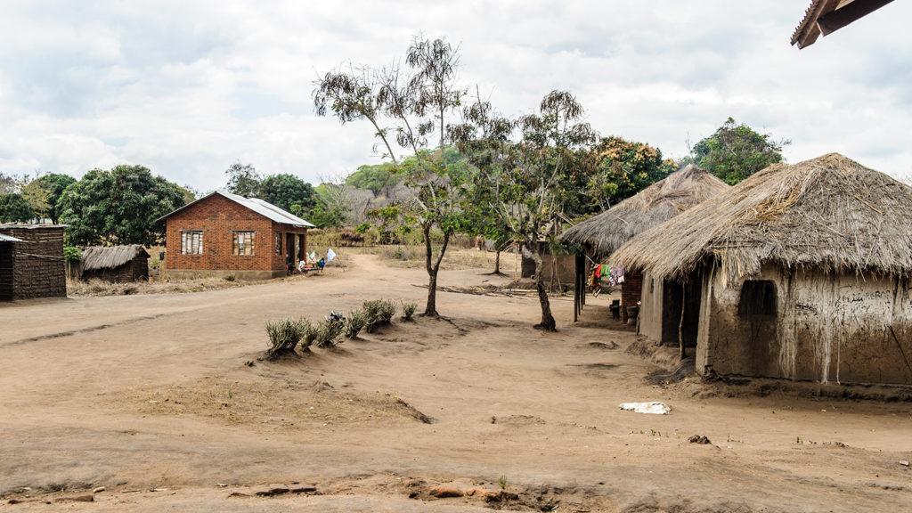 A remote village in Tanzania.
