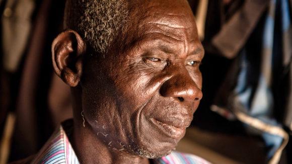 A close-up of Akwasi's face.