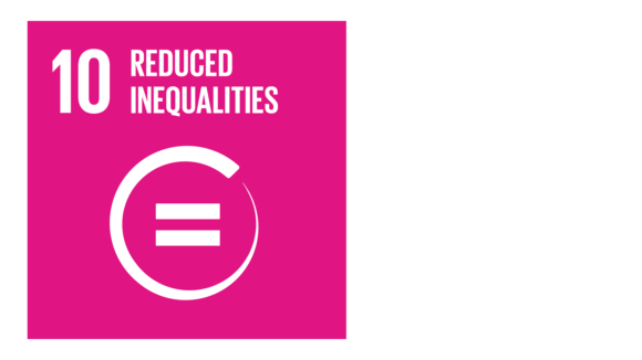 A pink icon with an image of an equals sign and the text '10: reduced inequalities'.