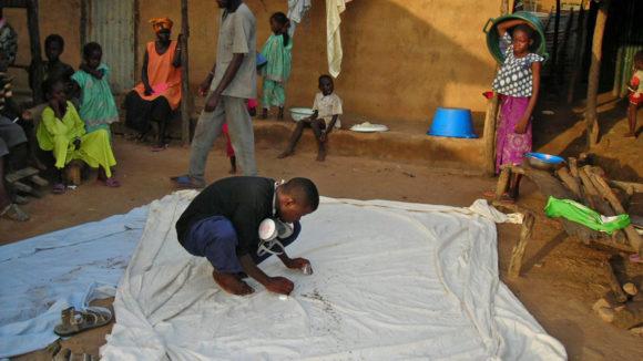 A mosquito PSC trap