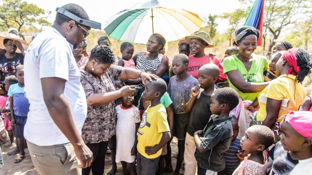 Trachoma group screening