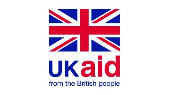 UK Aid logo.