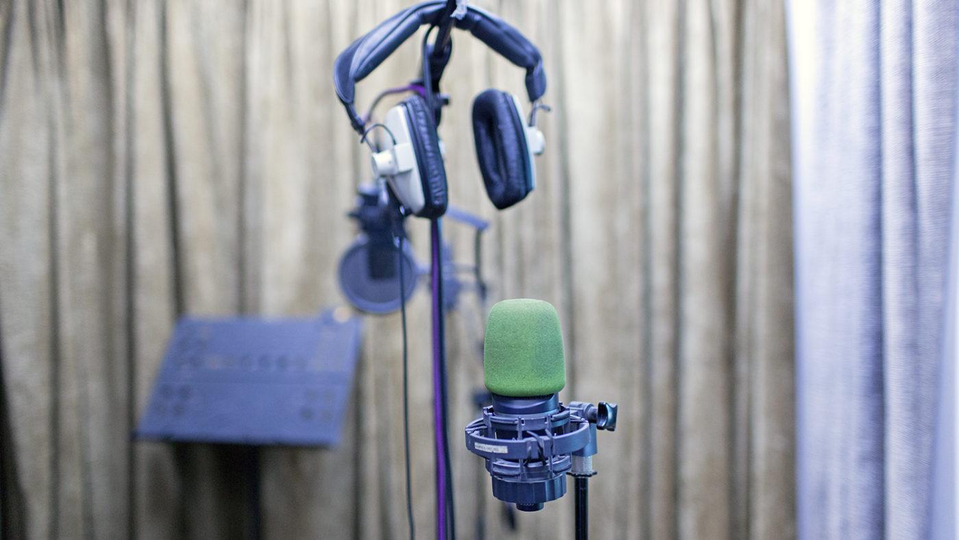 Pair of headphones.