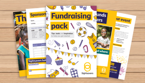 Image showing the fundraising pack