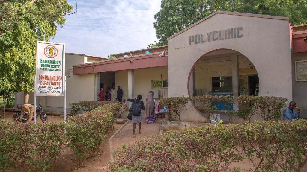 A clinic in Sokoto state, Nigeria.