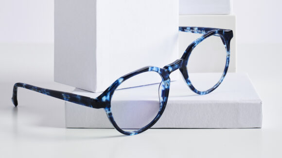 A pair of Waldo spectacles.