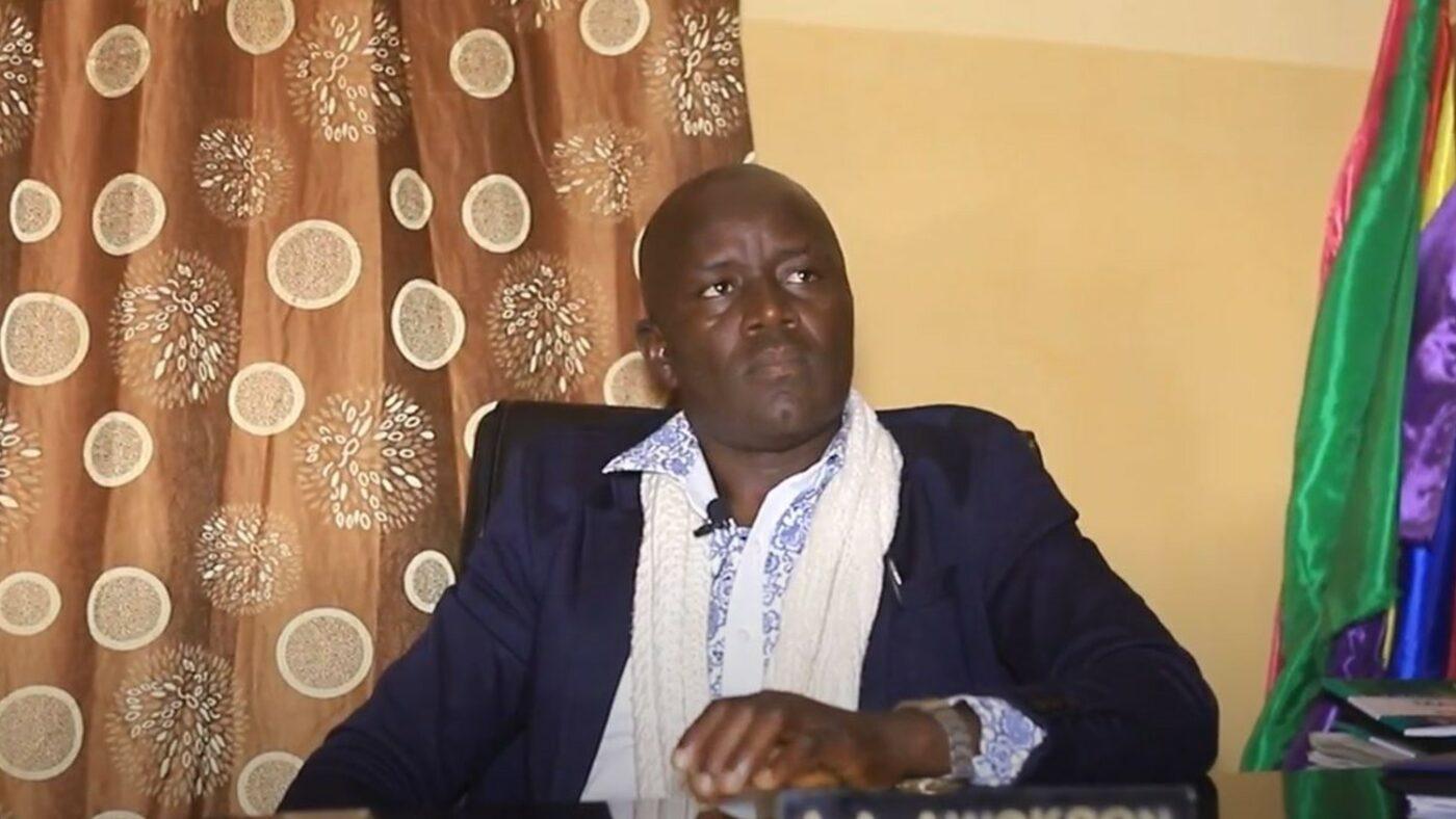 A A Awokson, Head Teacher at Wazari Aliyu primary school, Nigeria.