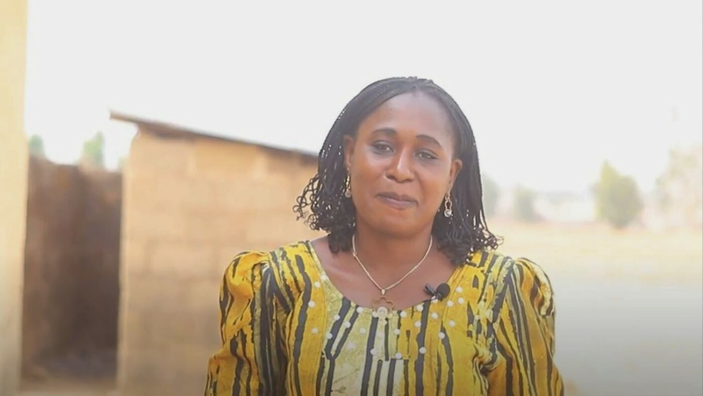Christy John Daniel, Head teacher of Taka One Model Primary School, Nigeria.
